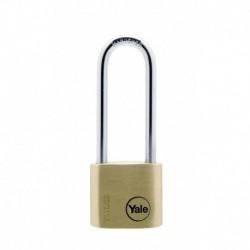 Lacat de alama Yale Y110/30/150/1, cu cheie, corp de 30 mm