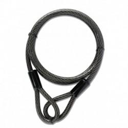 Cablu otelit antifurt pentru bicicleta YCBL1/8/300 8mm x 300cm