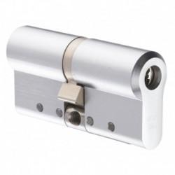 Cilindru Protec2, HARD (carcasa otel) 31x32mm, bara otel antirupere, finisaj Satin Chrome